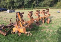 Huard Five Furrow Slatted Plough £1000 plus vat £1200