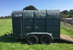 Rice Livestock trailer £790 plus vat £948