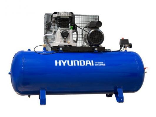 "Hyundai 200L 3hp ""Pro Series"" Electric Air Compressor HY3200S"