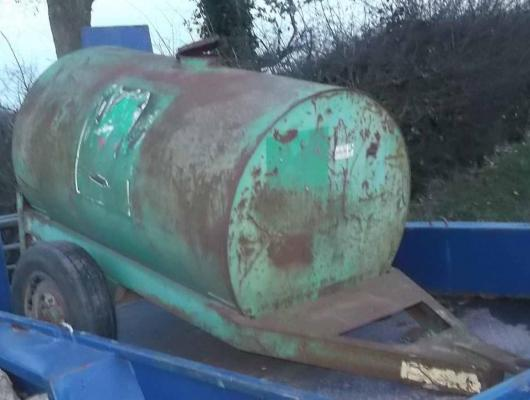 Water bowser 250 gallon