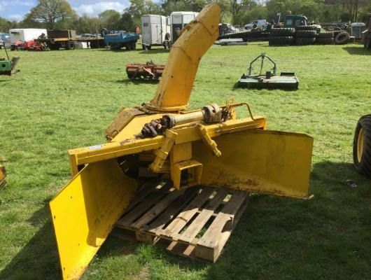 Tractor Mounted Snow blower pto driven £850