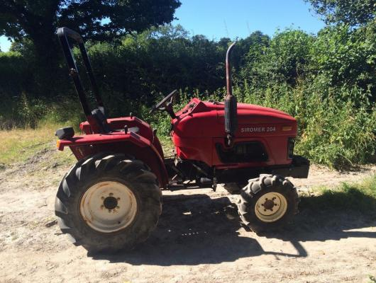 Siromer Tractor 204 4WD £2950