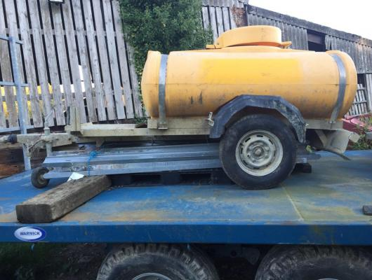 water bowser £450 plus vat £540