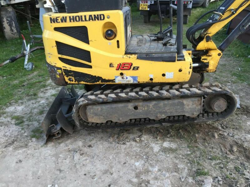 New Holland Digger E18B 2011 £8300 plus vat £9960