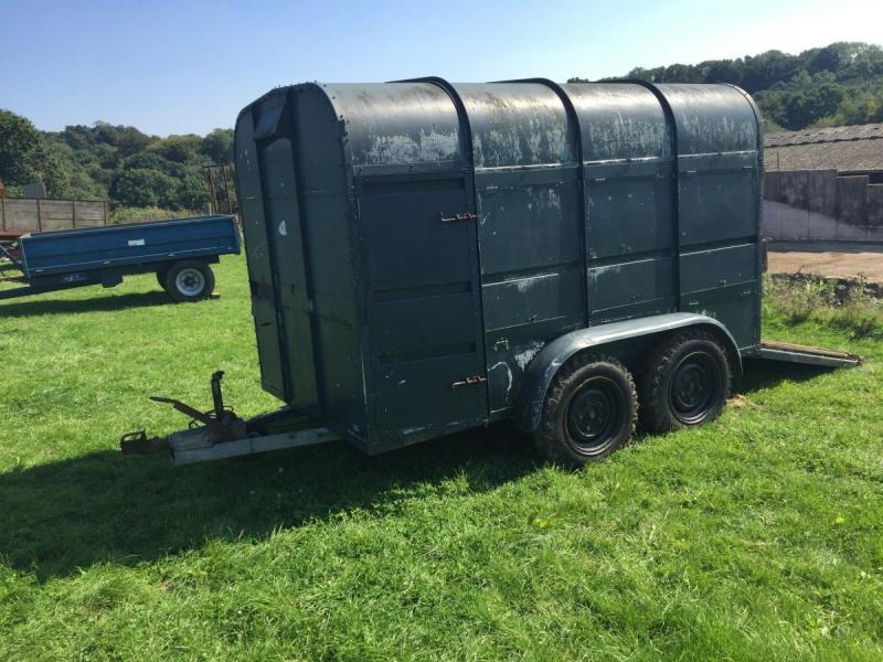 Rice Livestock trailer £790 plus vat £948