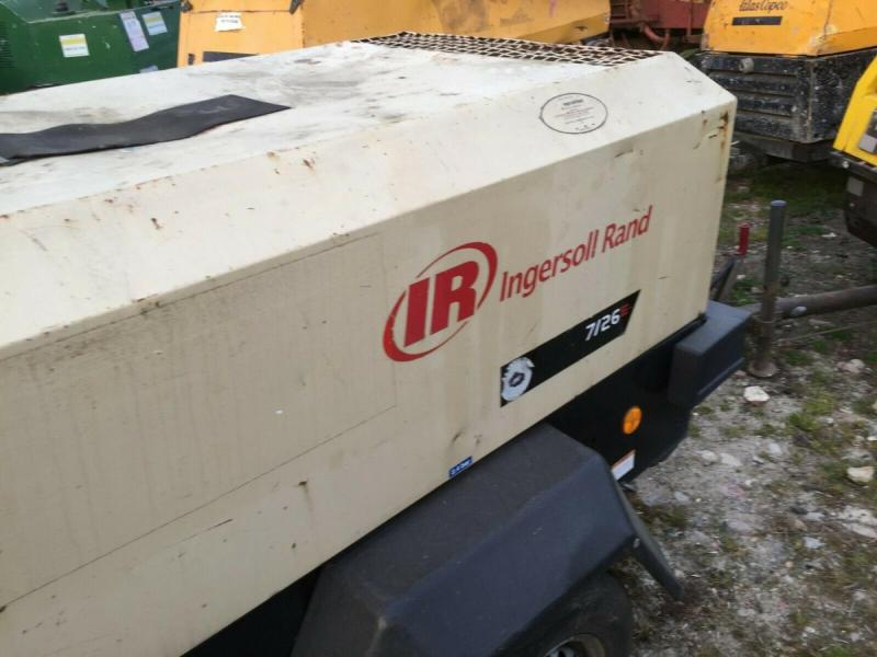 Ingersoll Rand 726E towed compressor YR 2007 £2450 plus vat £2940
