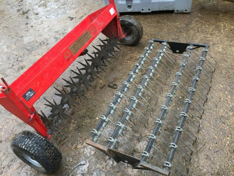 Ground slitter - spiker - rake - compact tractor £380