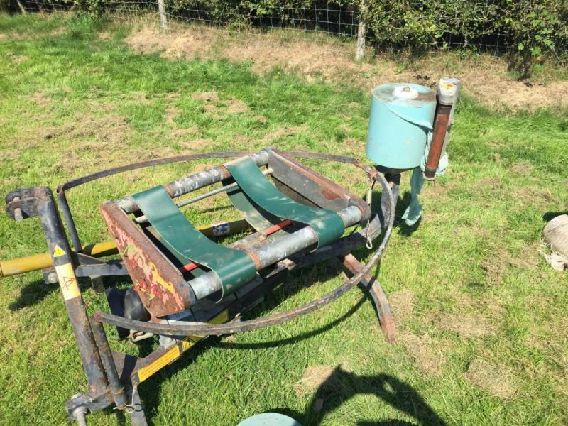 Record Caeb bale wrapper £800