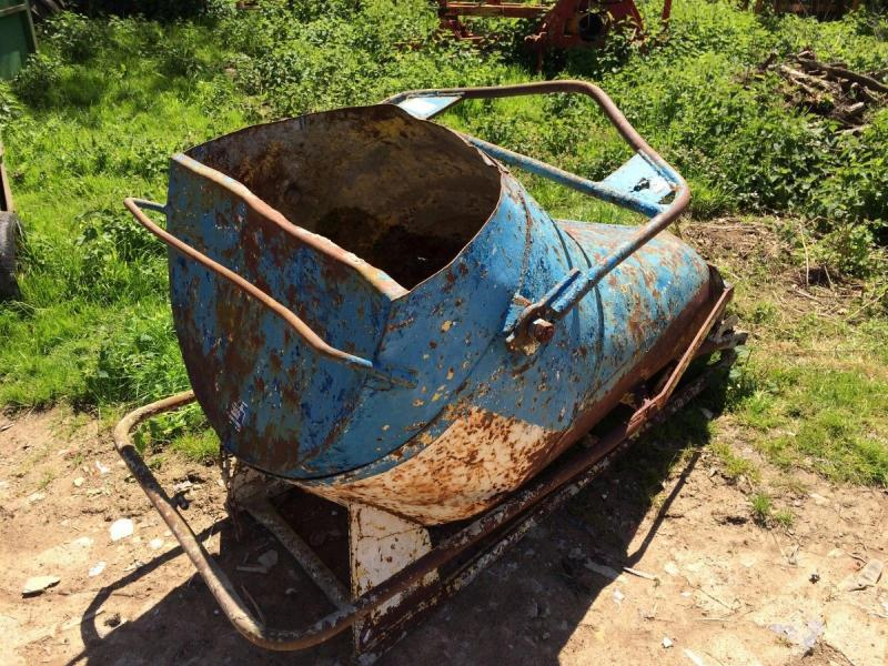 Concrete Pouring Skip £380 plus vat £456