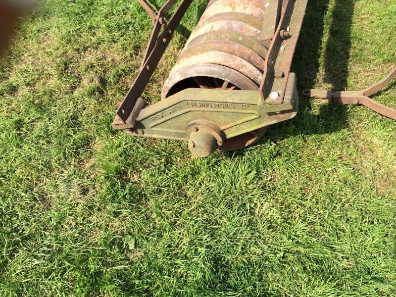Field paddock roller cambridge roller £390 8 ft 6 wide