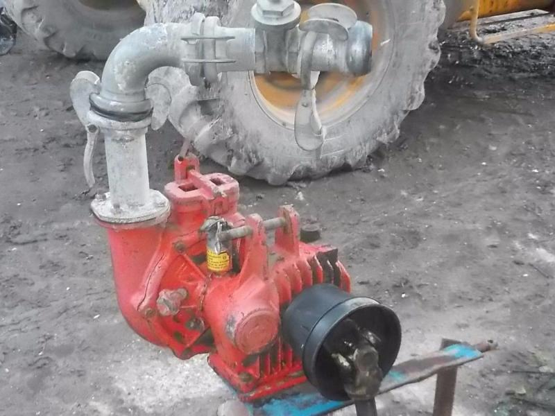 Water pump PTO driven with hose £450 plus vat £540
