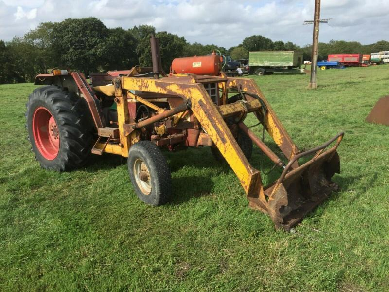 International Tractor 574 with loader £3750 plus vat £4500