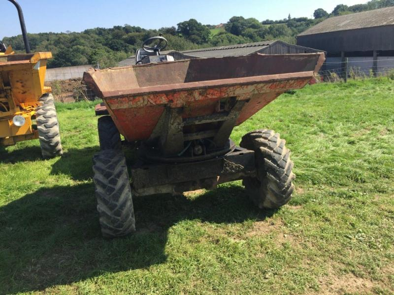 Thwaites 3 ton tip and swivel dumper £2950 plus vat £3540
