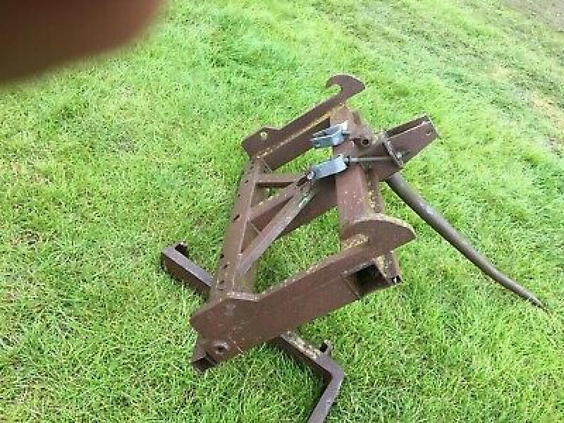 Tractor Bale Spike and forklift tines on Grays headstock £280