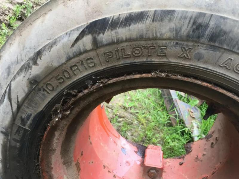 Implement tyres 10.50 R 16 £70