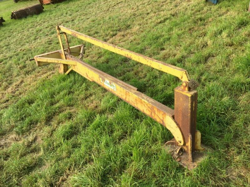 Post banger three point linkage - tractor mounted £280