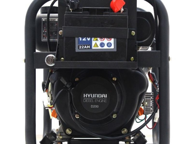 Hyundai 50mm Electric Start Diesel Water Pump DHY50E