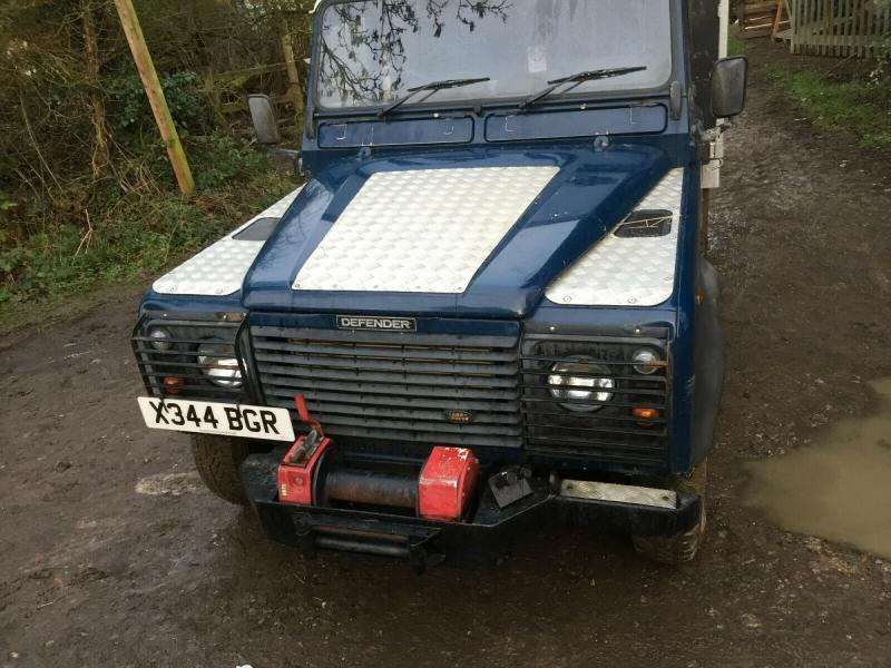 Land Rover chipper tipping body £4950 plus vat £5940