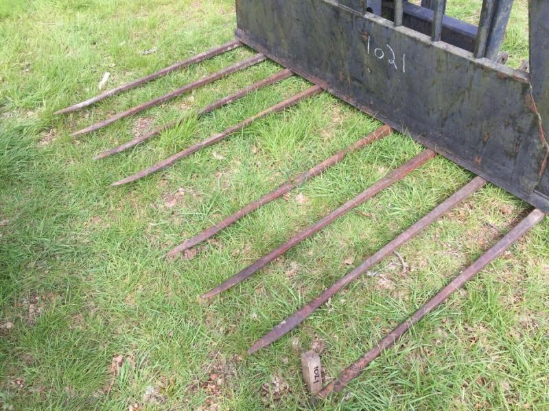 Buck Rake Tine Hydraulic push off £580