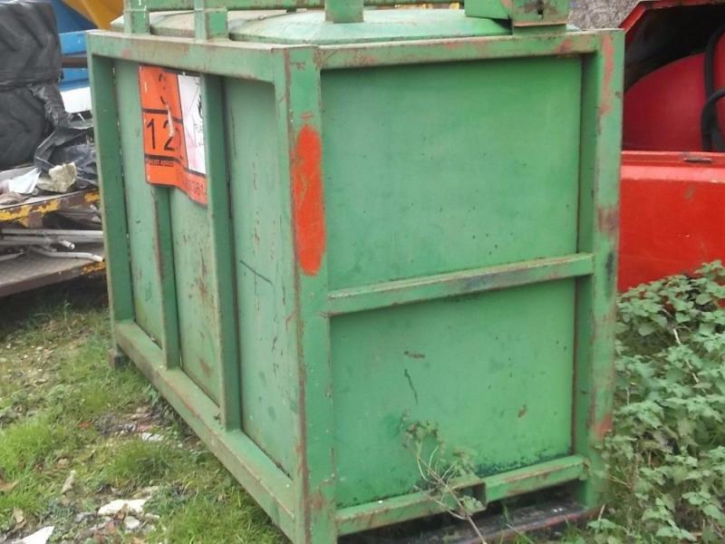 Large green diesel tank £350 plus vat £420