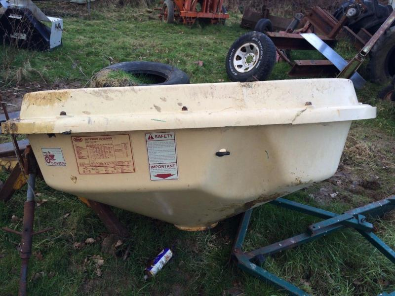 Fertiliser Spreader spares or repair £280