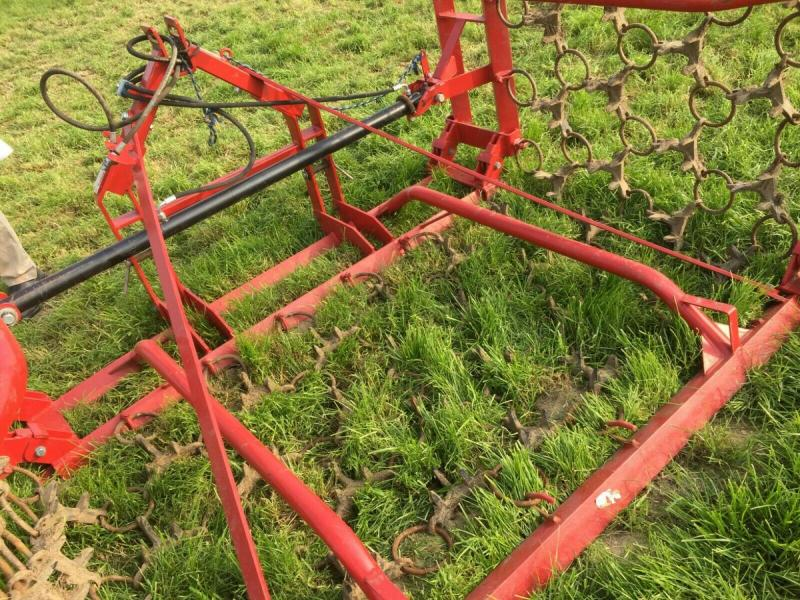 Chain Harrows hydraulic folding tractor mounted £950 plus vat £1140