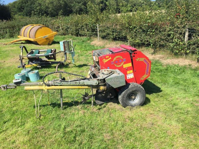 Record Caeb MP550 TPL Mountain press mini baler