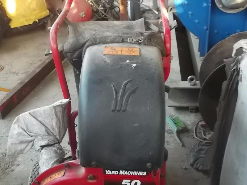 MTD Yard Machine leaf and debris collector vacuum £580