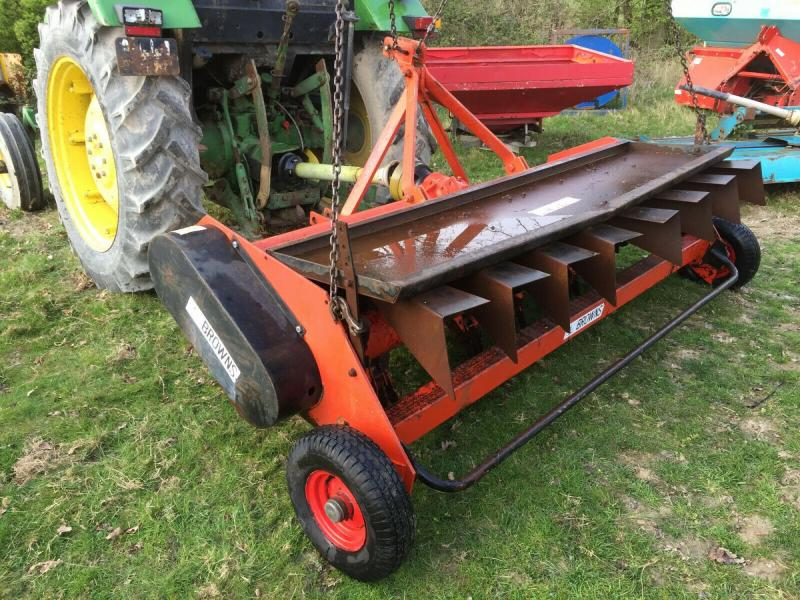 Browns Rough Cut Flail Mower £1290 plus vat £1548