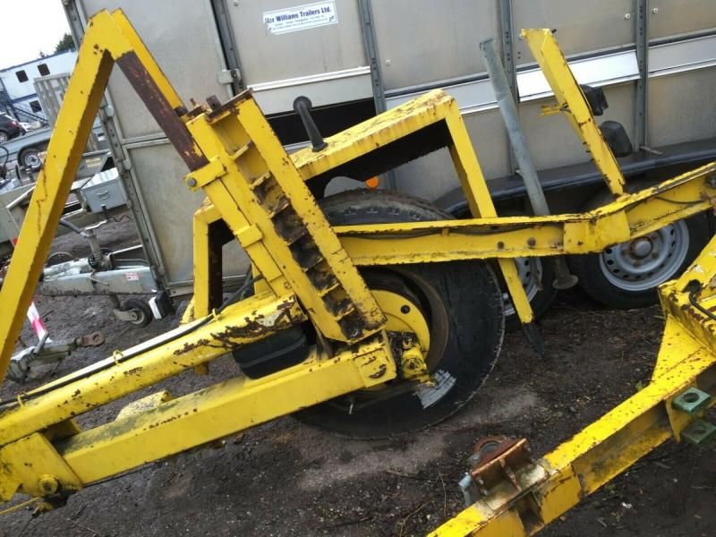 Large Cable Drum Trailer £1000 plus vat £1200