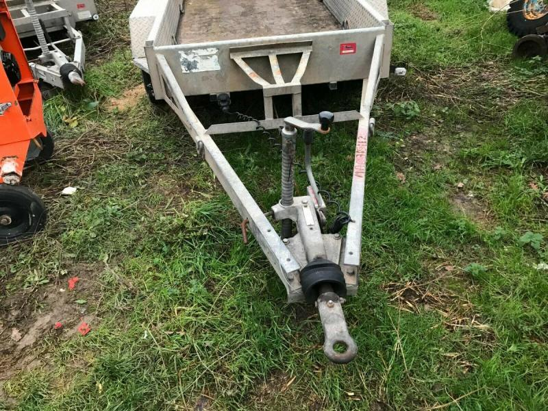 Plant Trailer Indespension - 2700 kgs - 8 x 4 Gatwick £1250 plus vat £1500