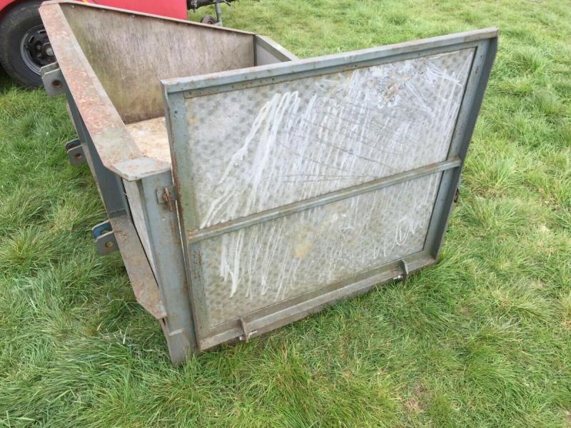 Tractor Transport link box with loading ramp £400