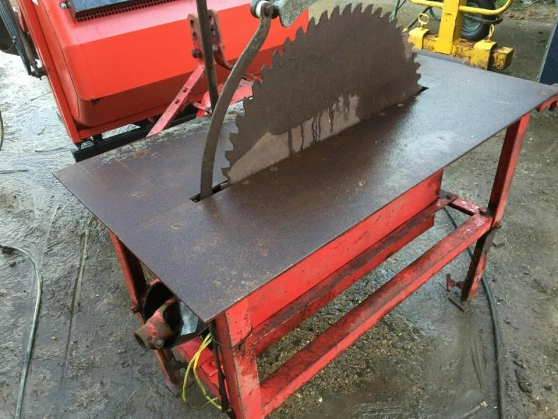 Saw Bench PTO driven - 3 point linkage £450 plus vat £540