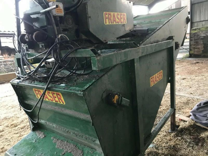 Fraser Mill and Mix Model M5 £2000 plus vat £2400
