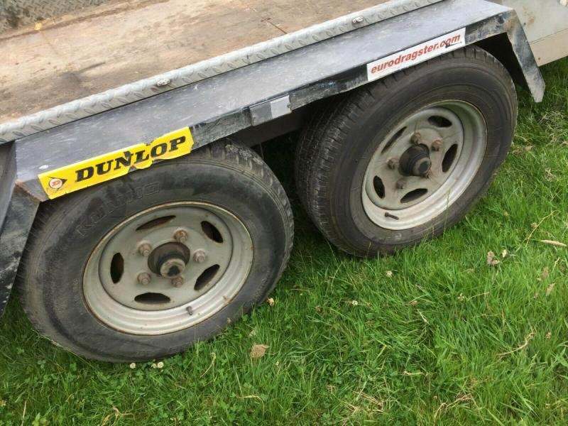 Plant Trailer Indespension 3500 kgs £980