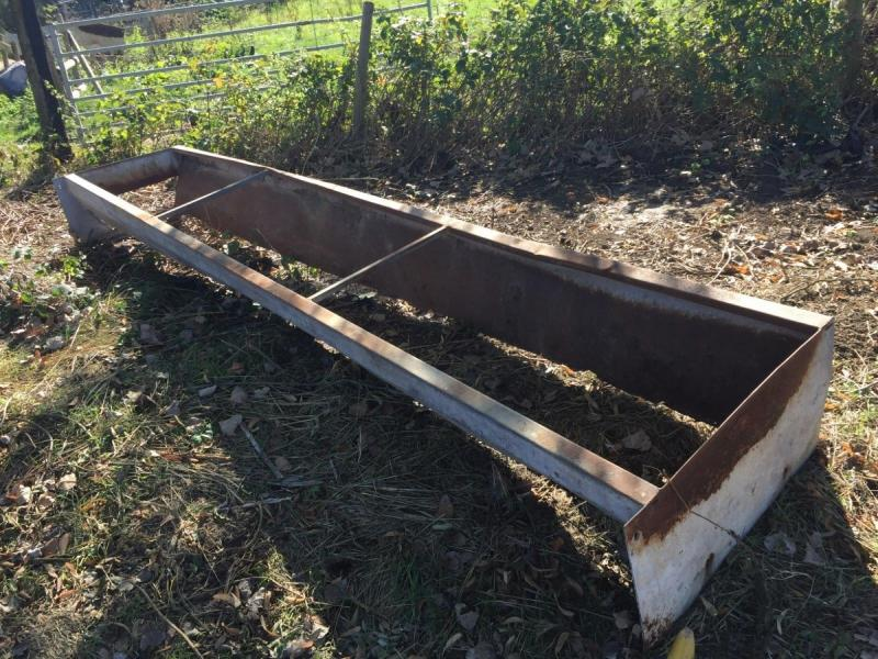 Feeding Troughs 15 foot repair £80 plus vat £92