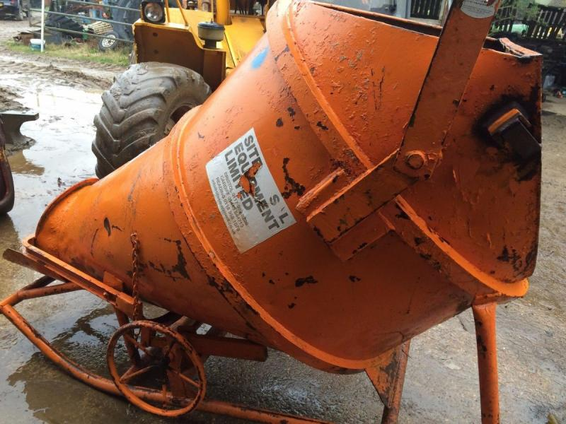 Concrete pouring skip £450 plus vat £540