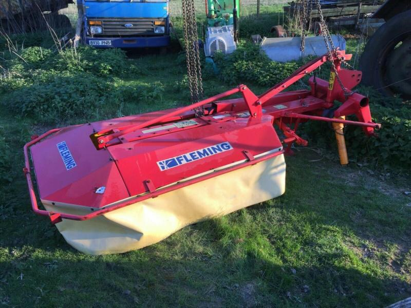 Tractor mounted drum mower £1280