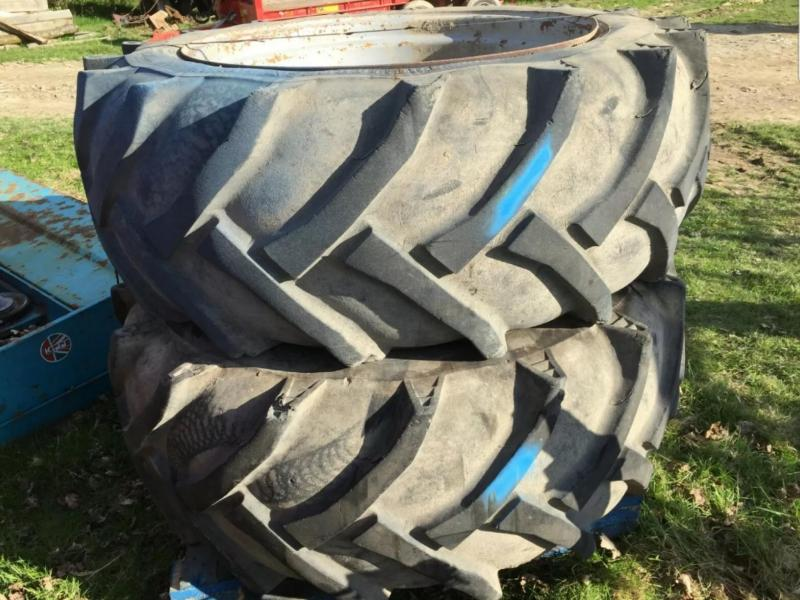 Tractor tyres and wheels 600/55-38 £300 plus vat £360