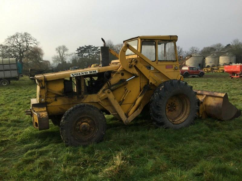 Volvo BM Loading Shovel £3950 plus vat £4740