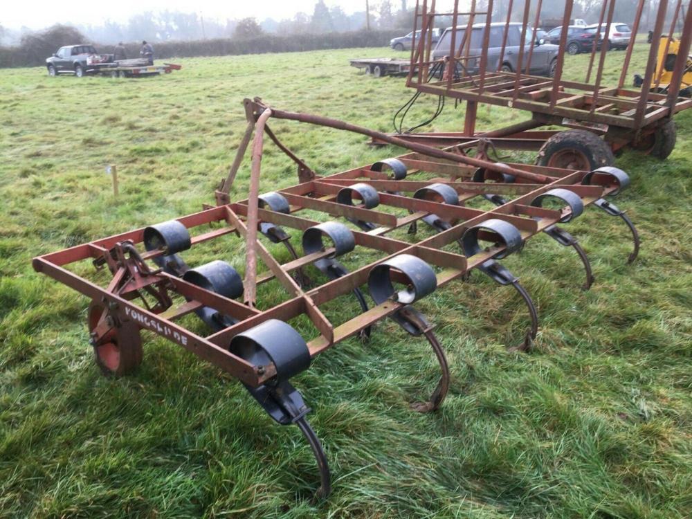 Konskilde Vibro Flex Cultivator £800 plus vat £960