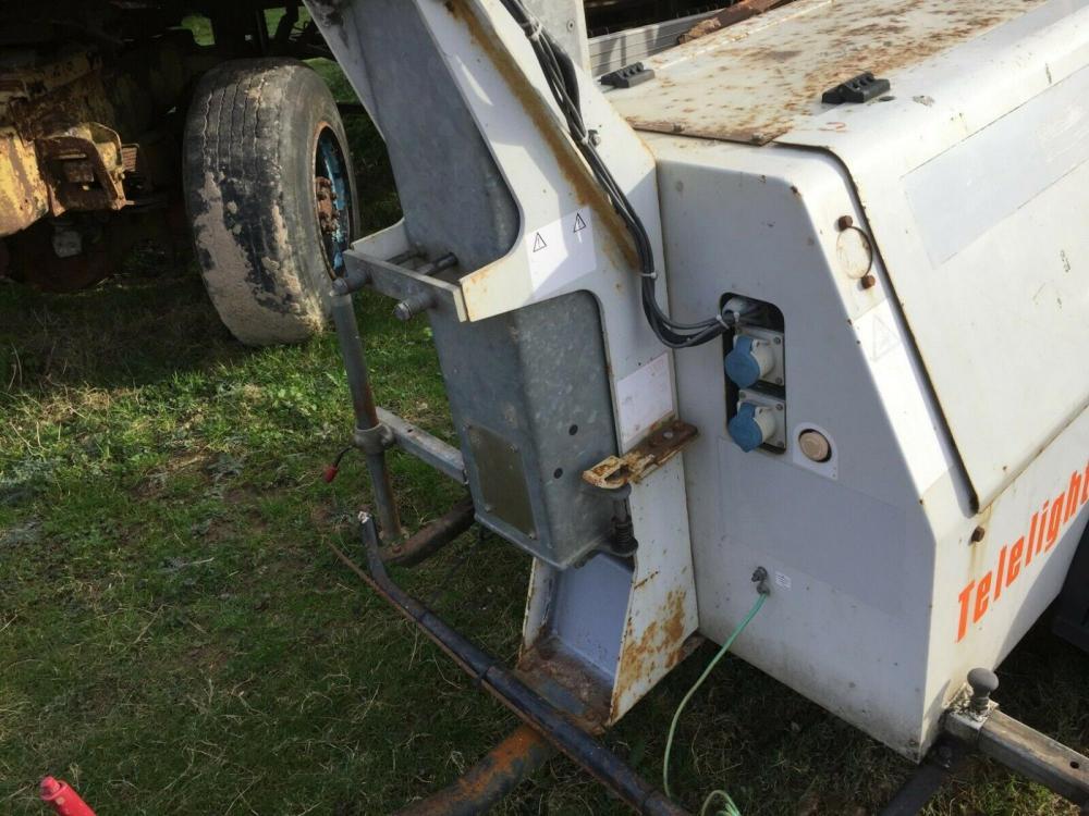 SMC TL 35 Towed lighting tower - generator £1450 plus vat £1740