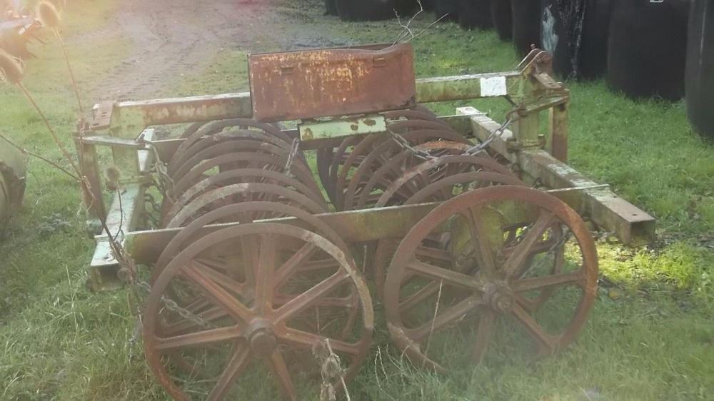 Dowdeswell Furrow Press 2 metre £375 plus vat £450