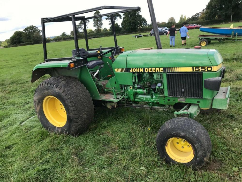 John Deere 1550 Tractor £6450