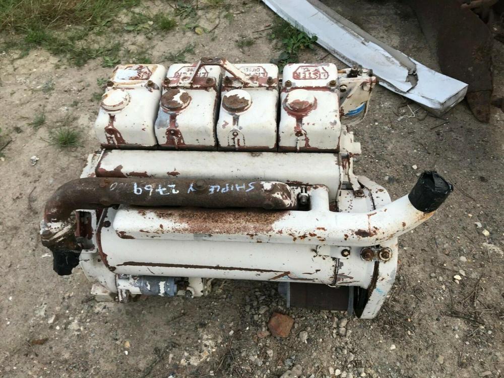 Lister 4 cylinder engine SR 4 - for spares £460 plus vat £552
