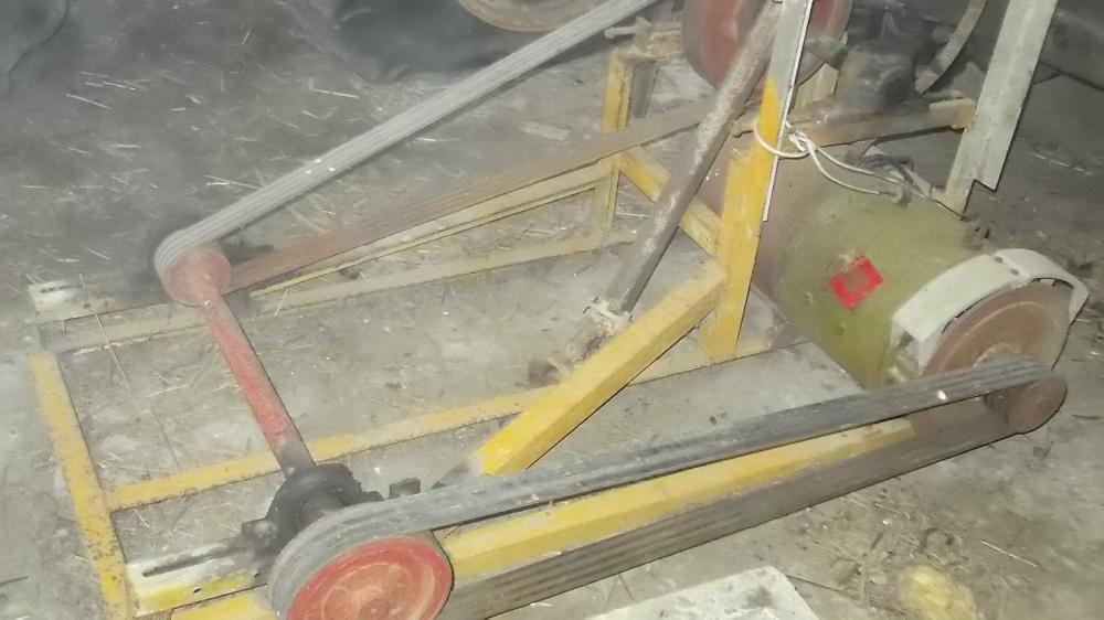 Generator PTO driven