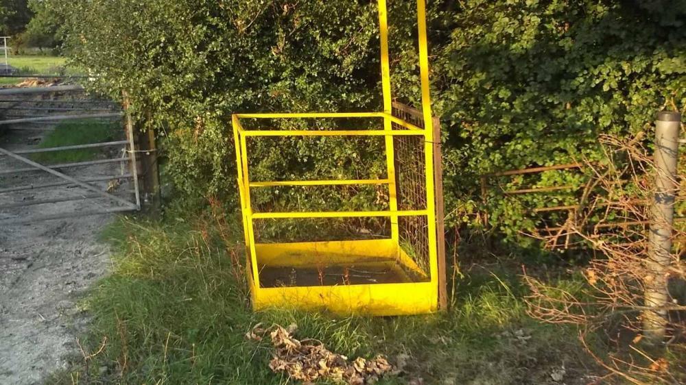 Forklift Cage - Access Cage - £280 plus vat £336