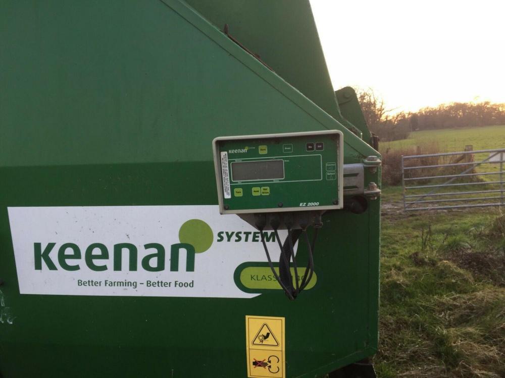 Keenan Feeder £2500 plus vat £3000
