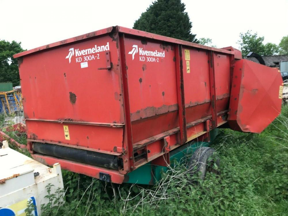 Kverneland KD 300A -2 Feeder Wagon £1400 plus vat £1680