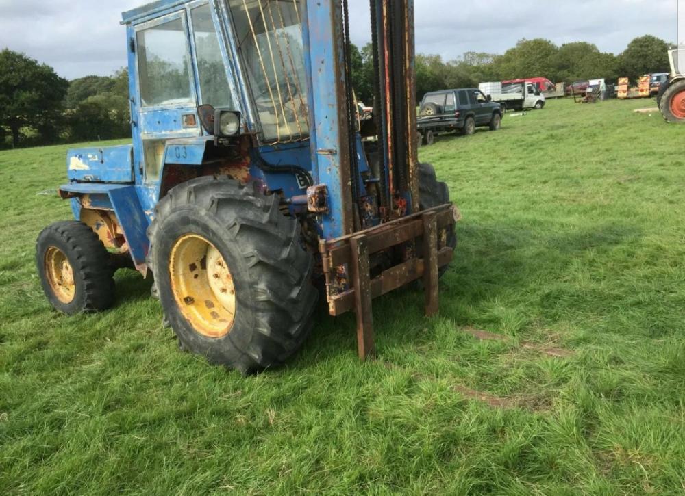 Manitou rough terrain forklift £3400 plus vat £4080 inc vat